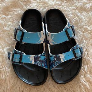 Killer Whale Birkenstock Sandals